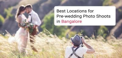 Pre wedding photoshoot locations in Bangalore Karnataka
