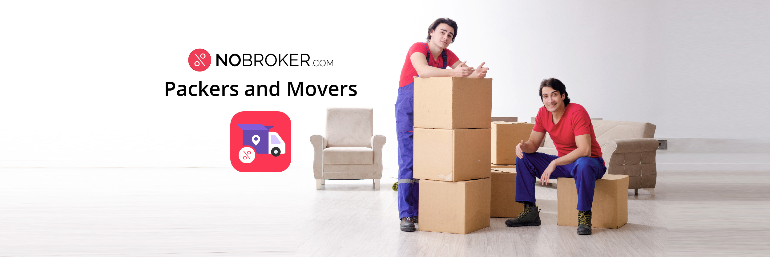 Packers & Movers App by NoBroker