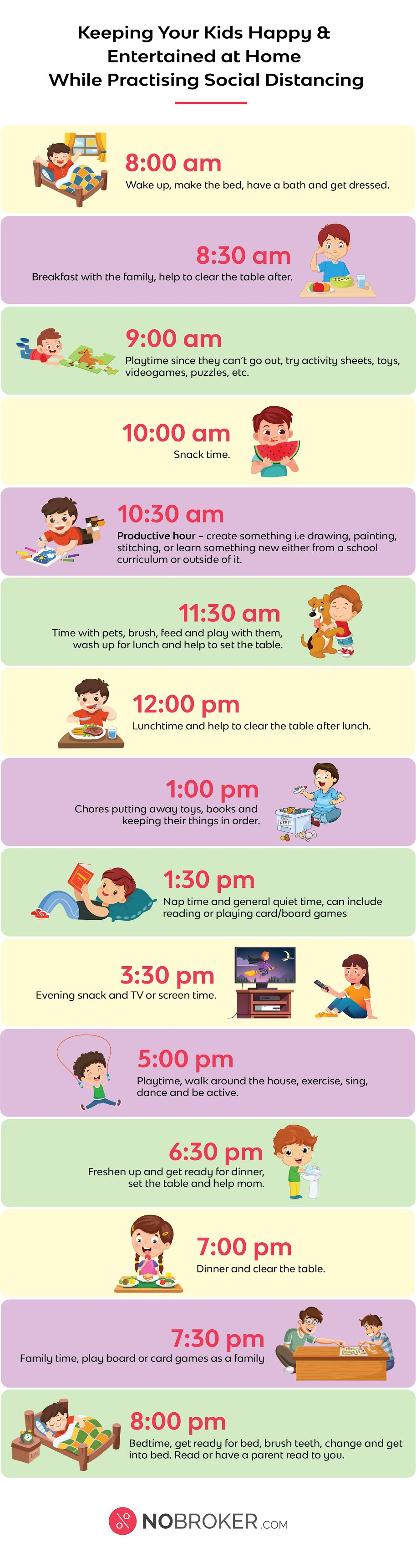 Keeping Your Kids Happy & Entertained at Home While Practising Social Distancing