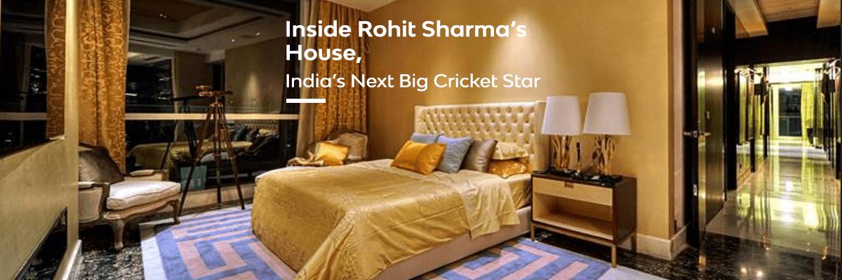 inside rohit sharmas house India's cricket star