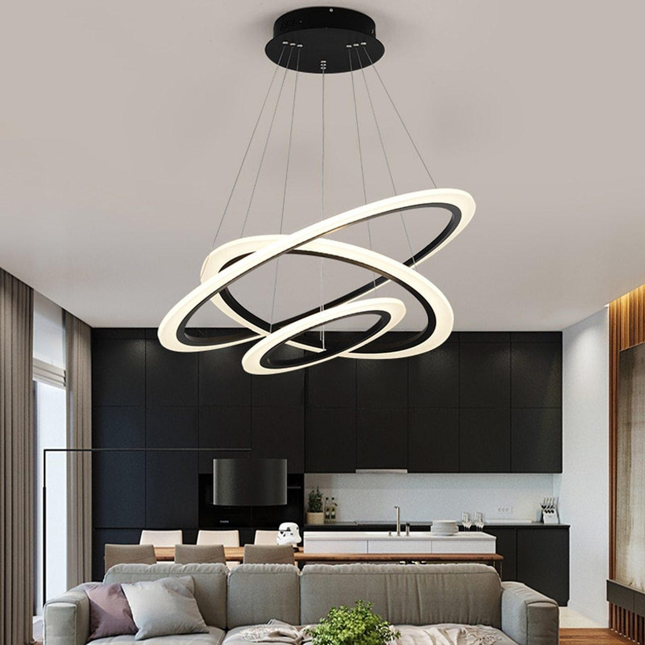 Hanging Lights to Illuminate Your Living Room1