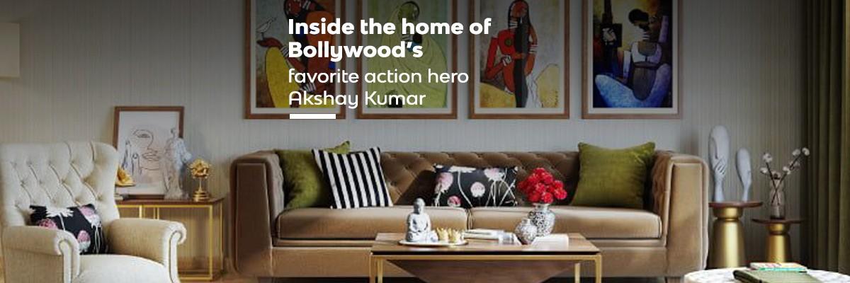 Inside the home of Bollywood's favorite action hero- Akshay Kumar