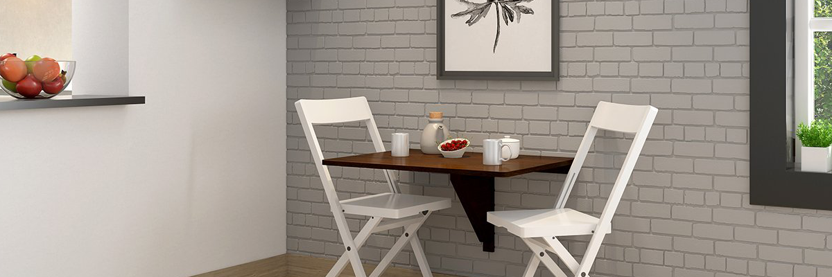 Wall-Mounted Dining Table Ideas