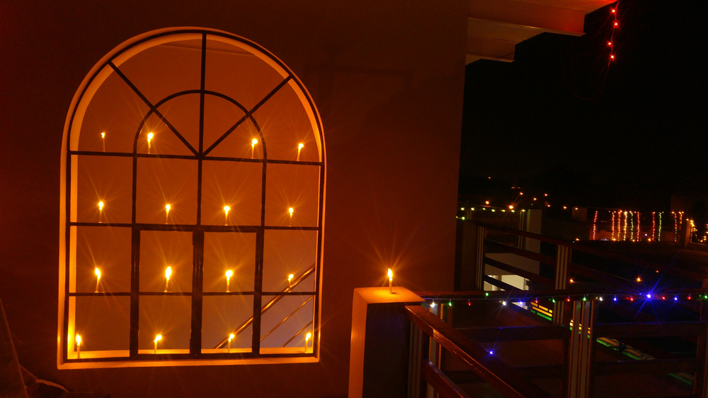 Diwali lights for home