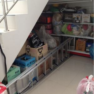 Usage of space under the stairs
