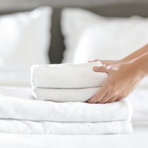 Service apartments offer housekeeping services