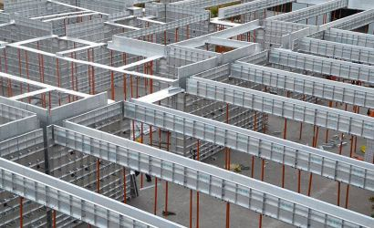 Placement of Aluminium Formwork