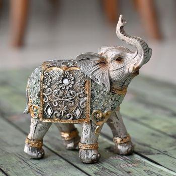 Silver Elephant Statue For Home Vastu