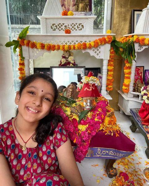 mahesh babu daughter