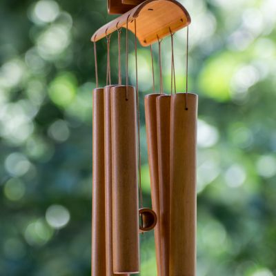 bamboo wind chimes generate a considerable amount of wood energy