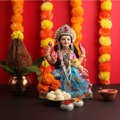 Flower Decoration for laxmi puja at home in 2021