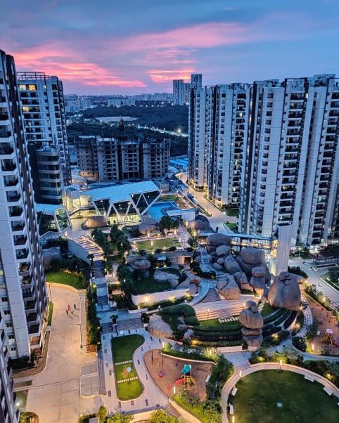 HITEC City - one of the most expensive areas in hyderabad