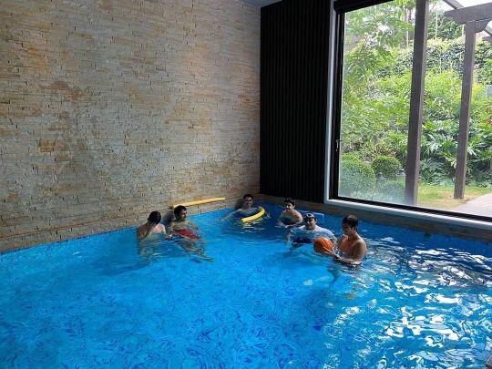 Indoor Swimming Pool of mahesh babu house