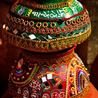 Raise The Bar With Decorated Garba Pot