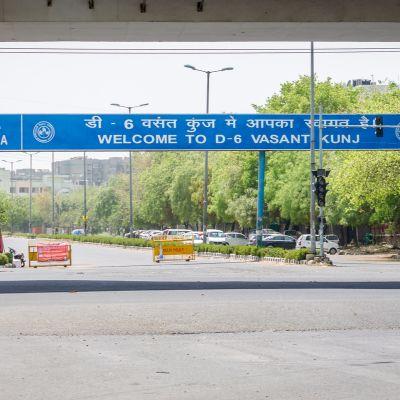 Vasant Kunj one of the best posh areas in delhi
