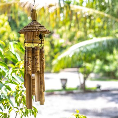 wooden wind chimes help fight insomnia