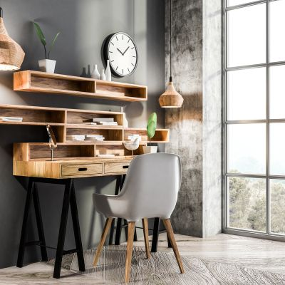 A Corner Study Table Design That Fits Every Room