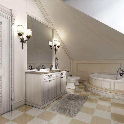 Checkerboard Bathroom Floor Tiles