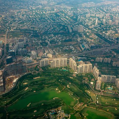 Golf Course Road most expensive residential area in gurgaon