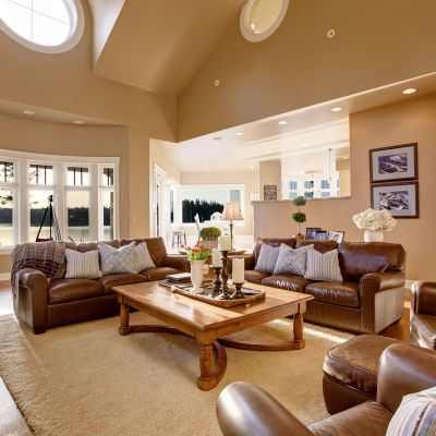Light Brown Paint Colours For The Living Room To Add Friendliness