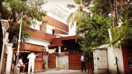 Actor Rajnikanth's house in Poes Garden