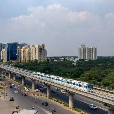 Sector 15 one of the posh areas in noida