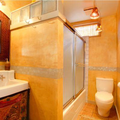 Yellow Bathroom Floor Tile Ideas